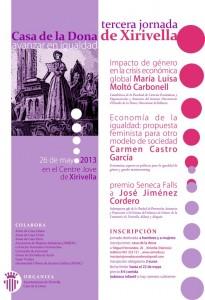 3º Jornada Casa de la Dona de Xirivella 'Avanzar en Igualdad'