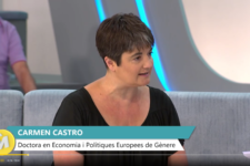 Carmen Castro en A punt TV