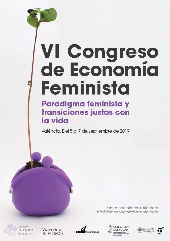 Cartel_VI_Congreso_EconomíaFeminista