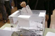 Imagen de una urna en un colegio electoral de Barcelona. EFE/Archivo