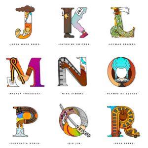 Un alfabeto que rinde homenaje a las mujeres fuertes de la historia-2