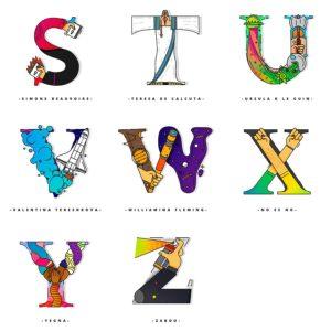 Un alfabeto que rinde homenaje a las mujeres fuertes de la historia-3
